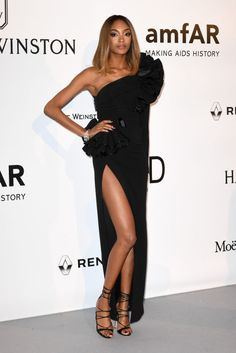 Jourdan Dunn in DSquared2 at cannes