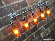 Badezimmer deckenlampe ~ Bad eitelkeit licht industrielle möbel badezimmer lampe