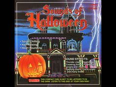 The best classic style sound effects for Halloween night! this halloween CD was released in the You can loop this video by right clicking over the video. Halloween Sound Effects, Halloween Sounds, Halloween Night, Holidays Halloween, Scary Halloween, Vintage Halloween, Happy Halloween, Halloween Party Costumes, Halloween Decorations