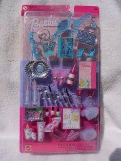 A Mattel Company 7597 7563 Barbie Dress N Play Slumber Set w Fashion | eBay