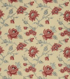 Home Decor Print Fabric-French General Catalog Rouge, , hi-res