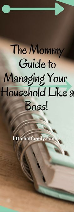 Manage household, mom schedule, organization, family organization, Clean home, to-do list, easy schedule, boss mom