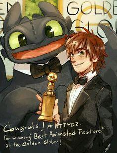 Melhor Animação lol Eles também compareceram ao Oscar o/