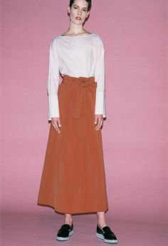 KBF SS 17 | #fashion #japan #minimalism #design #skirt #top #minimal