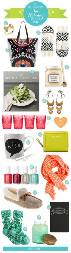 The Gift Guide: Gifts for Her, from The Sweetest Occasion