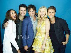 <3 Vampire Diaries Stefan, Vampire Diaries Cast, Riverdale Veronica, Paul Wesley, Entertainment Weekly, Ian Somerhalder, Best Shows Ever, Greys Anatomy, Tv Shows