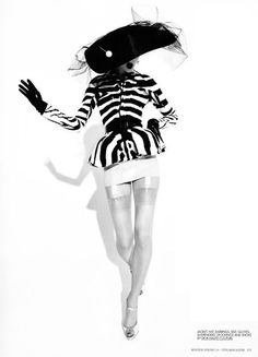 "10 MAGAZINE: Kinga Rajzak in ""Couture Report"" by Mark Pillai"