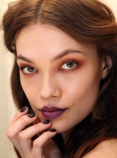 How to Get Cynthia Rowley's Fall 2013 Plum Pout | Makeup.com