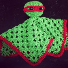 Teenage Mutant Ninja Turtle Lovey by My3Pieces on Etsy