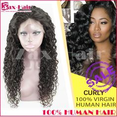 76.17$  Watch here - http://ali0bp.worldwells.pw/go.php?t=32361875297 - Human Hair Full Lace Human Hair Wigs Unprocessed 7A Virgin Human Hair Full Lace Wigs Glueless Curly In Stock Lace Front Wigs 76.17$