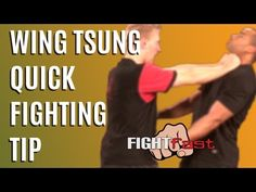 Wing Tsjun Quick Tip From Tommy Boehlig - YouTube