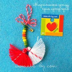 Baba Marta, 8 Martie, Santa Boots, Pressed Flower Art, Bulgarian, Hug, Tassels, Jewelery, March