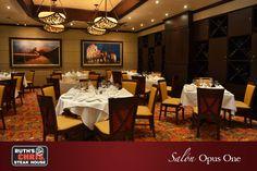 Nuestro salon privado Opus One. Ideal para eventos!