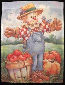 "leesa whitten | Harvest Scarecrow"""