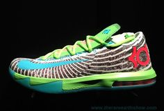 Discounts 618216-400 Gamma Blue Dusty Grey - Flash Lime Nike KD 6 DC Preheat
