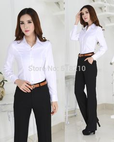 Casual Work Outfits, Professional Outfits, Office Outfits, Work Casual, Work Fashion, Fashion Pants, Fashion Models, Fashion Dresses, Formal Suits For Women