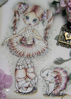 Little Darlings Design Team Inspirations: Haley and Harley!......