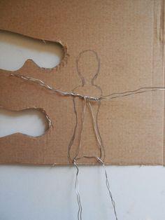 Vintagesavonette: Nostalgische Wattekinder - Anleitung - Nostalgic Spun Cotton Figure - Tutorial