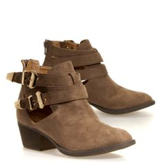 Diva Lounge AUDREY OPEN BUCKLE Casual Womens Shoes