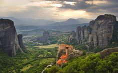 Meteora Monasteries Things not to miss in Greece | Photo Gallery | Rough Guides