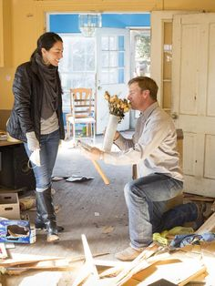On Chip's First Big Design Mistake - Get to Know <em>Fixer Upper</em> Hosts Chip and Joanna Gaines on HGTV