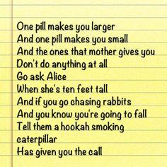 """Jefferson Airplane """"white Rabbit"""""""