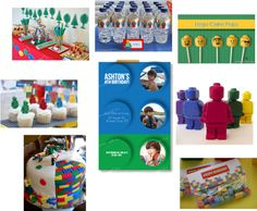 assembly of would be Lego Birthday Party