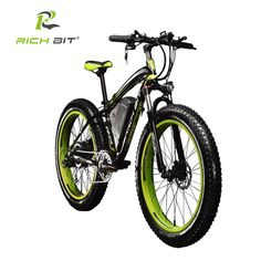 2c323bb70f1 RichBit Electric Bike Powerful Fat Tire Electric Mountain Bike 48V 17AH  1000W eBike Beach Cruiser 7