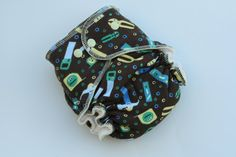 Tools  Medium Bamboo Velour  Fitted Cloth Diaper by BijouBabyGear, $17.00