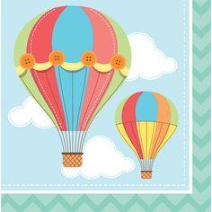 Bulk Hot Air Balloon Luncheon Napkins 192 ct - Napkins.com