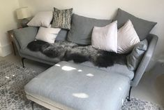 This photo is of the rare breed double end to end sheepskin we made for happy customer Tim Newmarch. When he sent in this photo of the fleece adorning his stylish sofa, the caption simply read 'Looking gorgeous' and we have to agree! Looking Gorgeous, Caption, Fans, Sofa, Stylish, Happy, Settee, Captions, Ser Feliz