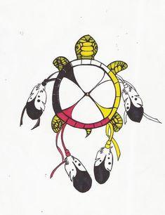 15+ Native American Turtle Tattoo Ideas