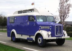 1952 Magirus-Deutz camping car.