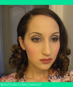 1930s makeup tutorial | 1930s makeup
