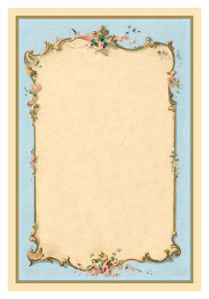 Matting for vintage photo :: *The Graphics Fairy LLC*: Victorian French Graphic - Romantic Couple - Ornate Frames Several great colors! Images Vintage, Vintage Diy, Vintage Labels, Vintage Ephemera, Vintage Frames, Vintage Cards, Vintage Paper, Vintage Prints, Molduras Vintage