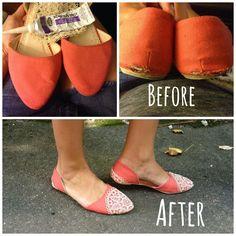623fe57ccbe7cb Doilies + Shoes   Perfection! Refashion Dress