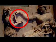 PROOF OF TIME TRAVEL - Laptop in Ancient Sculpture - YouTube