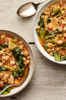 May 2020 - Pasta e Ceci (Italian Pasta and Chickpea Stew) Recipe - NYT Cooking Pasta Recipes, Soup Recipes, Vegetarian Recipes, Cooking Recipes, Healthy Recipes, Cooking Pasta, Savoury Recipes, Pasta Ceci Recipe, Chickpea Recipes