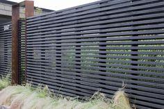 Front fence design ideas landscape modern with horizontal fence northwest landscape northwest style