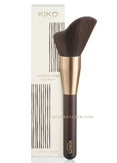 Kiko Cosmetic: 2015 Modern Tribe Collection Face Brush | One of the most unusual brushes I have ever seen.