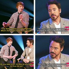 He's a master thief: | 32 Reasons Robert Downey Jr. Is The Most Perfect Man In The Universe