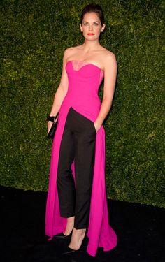 Ruth Wilson Pulls Off Dior's Pants-Dress Combo