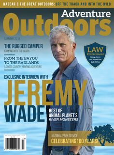 NEW ISSUE! Pick it UP in stores this May (2016)!!! Thank you Jeremy Wade for your participation #RiverMonsters