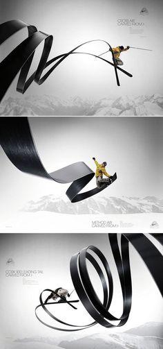 graphic campaign Love the illustration of the path. Graphisches Design, Creative Design, Print Design, Nike Design, Curve Design, Design Graphique, Art Graphique, Creative Advertising, Advertising Design