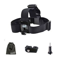 EEEKit Head Strap Mount For VTech Kidizoom Action Cam * Details can be found by clicking on the image.