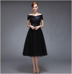 ドレス-ミニ・ミディアム 新作/Back編上 ミディアムレングス パーティドレス/韓国 Mode SD(4)