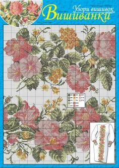 Summer flowers can be used both for gorgeous and quite simple cross stitch patterns. Compare at http://dianaplus.eu/cross-stitch-patterns-mini-edition-embroidered-shirts-issue-1266-p-6721.html