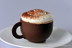 Cappuccino Mousse Cake Coffee Mug! Completely Edible