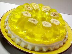 Banana Cream Jello
