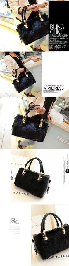 Winter package for 2013 faux rabbit fur handbags new bags handbag shoulder bag Messenger Bag Lady bag surge